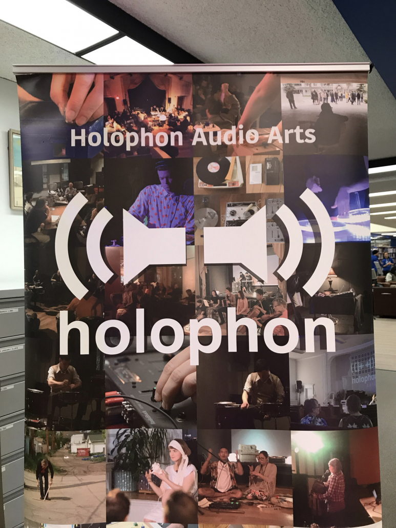 Soundscape presented by Holophon